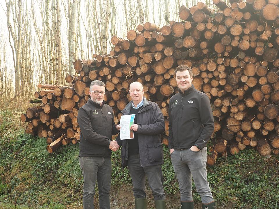 John Roche, William Merivale and Alan Egan
